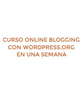 Blogging con Wordpress Semana
