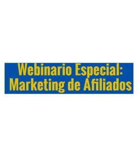 Webinario Especial Marketing de Afiliados