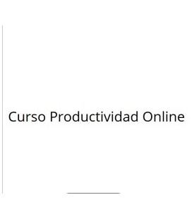Curso de Productividad Online
