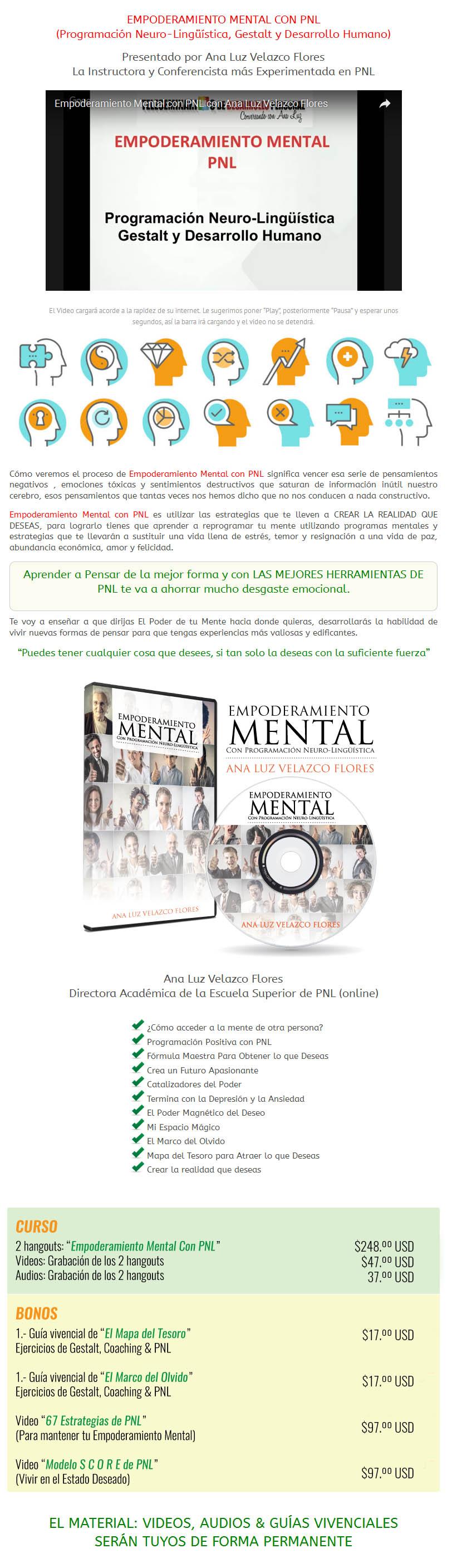 Empoderamiento Mental con PNL - Cursos De Remate